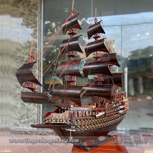 thuyền-buom-trang-tri-bang-go